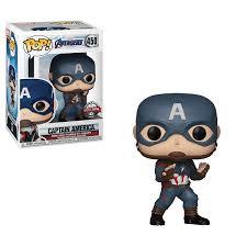 <b>Фигурка Marvel</b> Funko POP! <b>Avengers</b> Endgame Captain America