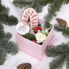 Коробка с цветами и пряником «Сказка» дешевле в Нижнекамске ...