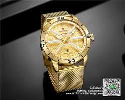 นาฬิกา <b>Naviforce NF9155</b> สายสแตนเลส ผู้ชาย สีทอง | นาฬิกา <b>Naviforce</b> ...