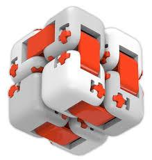 игрушка-антистресс <b>Xiaomi Mitu Fidget</b> Building Blocks белый по ...