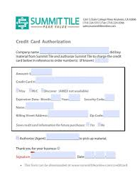 forms summit tile credit card authorization form credit card thumbnail web