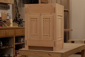 arts crafts bathroom vanity:  images about bathroom vanity on pinterest craftsman vanities and double vanity