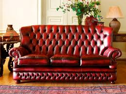 chesterfield sofa leather 3 seater high back howland chesterfield sofa leather 3