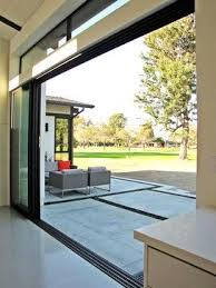 large sliding patio doors: love the large open sliding glass doors by fleetwood in costa mesa modern