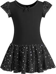 DANSHOW Girls Glitter Leotards for <b>Ballet Dance Dress</b> with <b>Tutu</b> ...