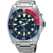 "seiko watches seiko divers watches watch shop comâ""¢ mens seiko diver kinetic watch ska369p1"