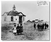 Antelope Valley  Image Gallery   County of Los Angeles Public Library County of Los Angeles Public Library     The Palmenthal schoolhouse and students in old Palmdale      s