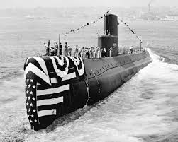 「1954, the first atomic submarine nautilus' launched」の画像検索結果