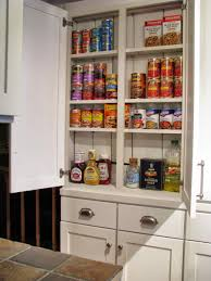 Kitchen Pantry Idea Blue Roof Cabin Diy Pantry Cabinet Using Custom Cabinet Doors
