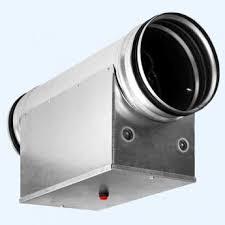 EHC 160-2,4/1 Shuft <b>круглый</b> канальный <b>нагреватель</b> купить по ...