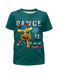 """Футболка с полной запечаткой для мальчиков """"Dance"""" #2475444 ..."""