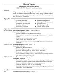 resume objective examples for s professional resume cover resume objective examples for s resume objective examples job interview career guide job automotive mechanic resume