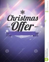 winter and christmas offers advert backgound stock illustration winter and christmas offers advert backgound