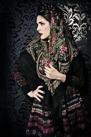 Pavloposad shawls в 2019 г. | Pavloposad shawl | Русская мода ...
