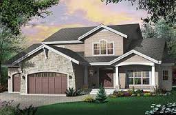 Rustic House Plans from DrummondHousePlans comEast lake Modern rustic cottage  to bedrooms  breakfast nook  master on