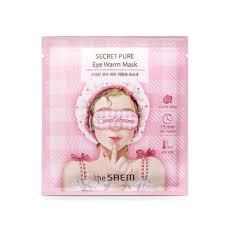 <b>Тепловая маска</b> для глаз The Saem Secret Pure Eye Warm Mask ...