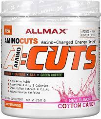 ALLMAX Nutrition <b>ACUTS</b>, <b>Amino-Charged Energy Drink</b>, Cotton ...