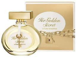 <b>Antonio Banderas</b> Her <b>Golden Secret</b> EdT 80ml in duty-free at ...