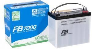 Аккумулятор автомобильный FB7000 60B24L 470 А обр. пол. <b>48 Ач</b>