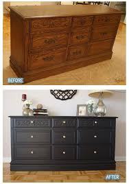 the black color gave more character as a statement piece hallway dining area bedroom bedroom furniture makeover