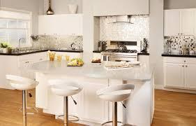 white granite kitchen island smlfimage