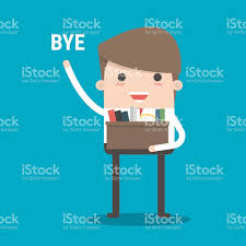 businessman leaving job vector flat design stock vector art businessman leaving job vector flat design royalty stock vector art