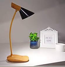 Desk lamp <b>Nordic Modern Minimalist</b> Wood Touch-Type Spiral Desk ...