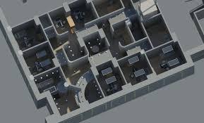 7 Treatment Room Dental Office Floor Plans 3D Design San FranciscoCalifornia