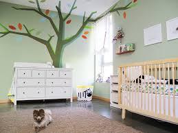 Baby Girl Room With Green Walls  Netmodern Nursery Lighting  Kids Ceiling Design Ideas  O