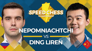 Ian Nepomniachtchi vs. Ding <b>Liren</b>: <b>2019</b> Speed Chess ...
