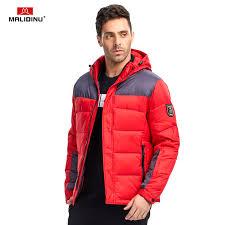 <b>MALIDINU 2019 Men</b> Down Jacket Winter Jacket Brand Warm Down ...