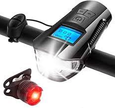 AIRSOFTPEAK <b>Bike Light</b> Set <b>Bike Lights</b> Front and Back <b>Bicycle</b>