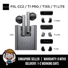 <b>FIIL</b> CC2 / <b>T1 Pro</b> / T1XS / <b>T1</b> Lite Wireless Earbuds, Bluetooth 5.2 ...