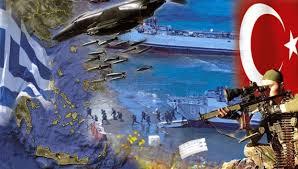 Αποτέλεσμα εικόνας για φωτο εικονες αιγαιου πελαγους με τουρκικα πολεμικα αεροπλανα και πλοια