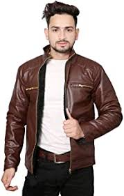<b>Leather Men's</b> Jackets: Buy <b>Leather Men's</b> Jackets online at best ...