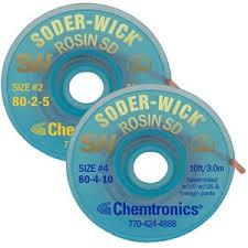 Soder-<b>Wick</b>® Rosin SD <b>Solder</b> Remover | Chemtronics