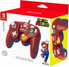 <b>Геймпад Hori Battle</b> Pad <b>Mario</b> для Nintendo Switch - купить по ...