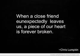 Quotes About Losing A Friend. QuotesGram via Relatably.com