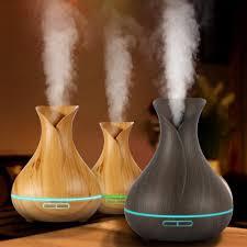 <b>Essential Oil</b> Diffuser Humidifier 400ml Ultrasonic Cool Mist <b>Aroma</b> ...