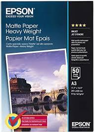 Epson Supplies Paper A3 Matte Heavyweight ... - Amazon.com