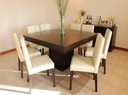 dining room tables chairs square: wonderful square dining table for  for big family simple and fresh square dining table