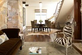 cow hide rugs family room traditional with acrylic coffee table area animal hide rugs home office traditional