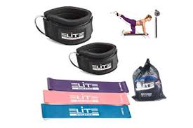 ELITE ATHLETICS <b>Ankle Straps</b> for <b>Cable</b> Machines and <b>Resistance</b> ...