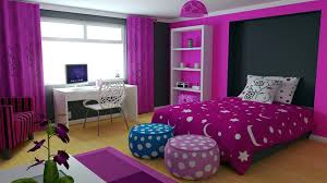 bedroom for girls: bedroom colors for girls interior inspiring dark purple bedroom for teenage girls as girls modern home interior design page