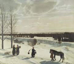 <b>Winter Landscape</b> (Russian Winter) - Virtual Russian Museum