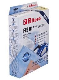 <b>Мешки</b>-пылесборники <b>Filtero</b> FLS 01 (S-bag) ЭКСТРА, 4 шт., для ...