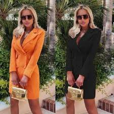 Autumn and Winter Womens Suit Jacket Waist Slim Thin ... - Vova