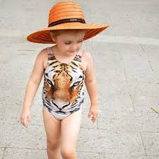 2019 Girls <b>Swimwear Bikini 2016 Summer</b> One Piece Kids Swimsuit ...