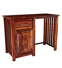 Jangid handicraft <b>Solid Sheesham</b> Wood <b>Study Writing Table</b> for ...