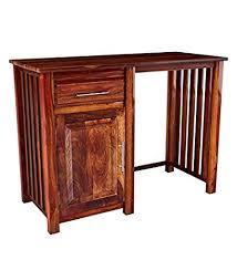 Jangid handicraft <b>Solid Sheesham</b> Wood <b>Study Writing Table</b> for ...